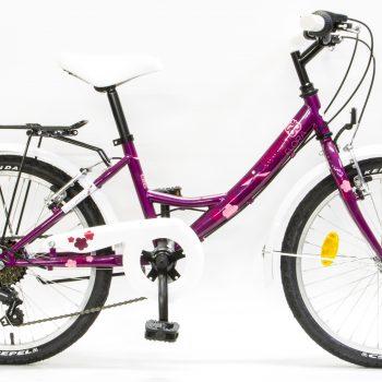 Kerékpár csepel flora 20 6 sebességes ciklámen